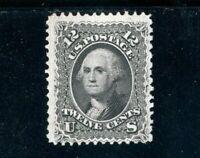 USAstamps Unused FVF US 1861 Serie Washington Scott 69 NH