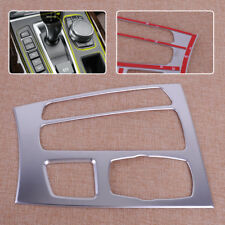 Chrome Car Interior Gear Shift Box Panel Cover Trim Fit For BMW X5 F15 2014-2017