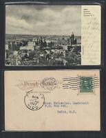1907 SYRACUSE UNIVERSITY SYRACUSE NY UDB UNDIVIDED BACK POSTCARD