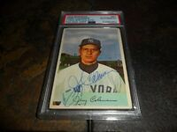 1954 Bowman JERRY COLEMAN #81 Signed Auto New York Yankees PSA/DNA