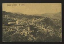 cartolina NOVARA DI SICILIA il castello