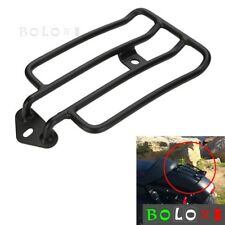 Motorcycle Solo Seat Rear Luggage Rack Universal For Harley Sportster 883 1200