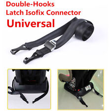 Double-Hooks ISOFIX Latch Connector  Seat Belts For Car Baby Child Safety Seats