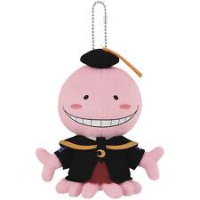 Banpresto Assassination Classroom 6'' Plush Keychain BP36190 ~ Korosensei Pink