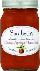 SARABETHS MARMALADE ORAN APRICOT 18 OZ (Pack of 6)