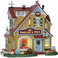 Lemax PAULINE'S PIE SHOP #55936 BNIB Lighted Building