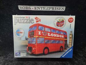 Ravensburger 3D London Bus / Pen Holder 216 pcs age 10-99 NEW p-90