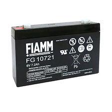 Fiamm FG10721 Batteria al piombo ricaricabile 6V 7,2 Ah
