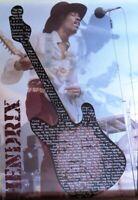 JIMI HENDRIX GUITAR LYRICS -Poster-Laminated available-90cm x 60cm-Brand New