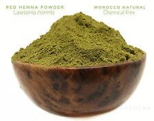 RED HENNA POWDER-LAWSONIA INERMIS-HAIR/SKIN COLOUR-MOROCCAN TAZARINE-NATURAL