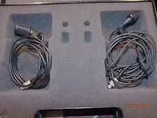 Microphone cravate Sennheiser ME104 + CABLE LEMO + MKE40-2R AVEC SON CABLE LEMO