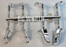 RC 1/10 RC Car SCALE Accessories  SIDE VIEW MIRRORS CHROME  4 Styles Included