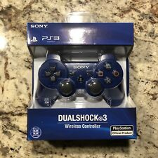 New - Blue Dualshock 3 Sixaxis Controller - Wireless Sony PS3 Gamepad