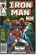 Iron Man #200 VF- (7.5) 1985 Newsstand Edition! 1st Appearance of Iron Monger!