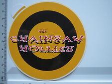 Aufkleber Sticker Chainsaw Hollies -  Music - Powerpop-Band - Dortmund (5477)