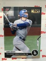 2020 TOPPS NOW NLCS CARD DODGERS COREY SEAGER #430 FUELS WIN WITH 2 HRs 3 RBIs
