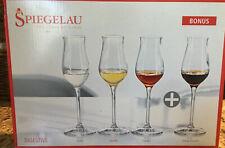 Spiegelau Digestive Glass (4 Glasses) No Chips In The Box. Grappa, Cognac