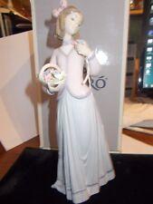 "Lladro Figure ""Innocence In Bloom""  1996 Collectors Society. estate"