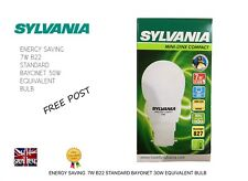 Long Life Mini Lynx Energy Saving 7w Bulb 6000 Hour White