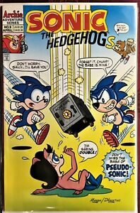 SONIC The HEDGEHOG Comic Book #9 April 1994 First Edition Bagged & Boarded NM-