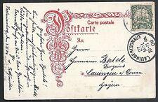 Deutsch Südwest Afrika covers 1906 PPC Keetmanshoop to Lauingen