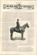 1904 Mr F Gibson Fry South Herefordshire Foxhounds, Starr Wood Toon