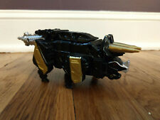 Power Rangers Dino Charge Tricera Zord Triceratops Black