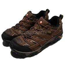 Merrell Moab 2 GTX Gore-Tex Earth Brown Black Men Outdoors Shoes Sneaker ML06041