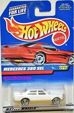 HOT WHEELS 1998 MERCEDES 380 SEL #767 WHITE