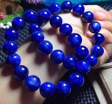 12mm Blue Kyanite Gemstone Natural Round Beads Bracelet AAAAA H09