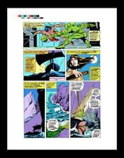 Gil Kane Giant-Size Conan #4 Rare Production Art Pg 3