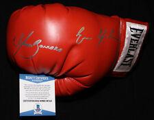 Marco Antonio Barrera and Erik Morales signed boxing glove, Beckett BAS B87443