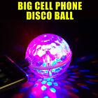 New Big Round Ball Cell Phone disco Ball Mini LED USB Party KTV lights US seller
