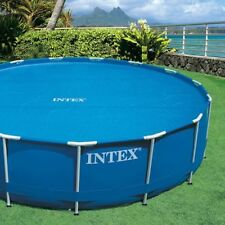 Intex Solar Pool Cover for 10 ft Frame or Easy Set Pools with Carry Bag