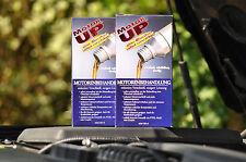 """2x MotorUP Motorbehandlung """"Das Original"""" 2x 240ml"""