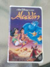 Aladdin Black Diamond Vhs collectors edition. (RARE 1662-1) Disney classic.