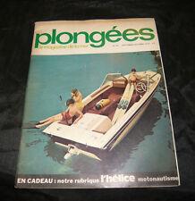 Plongées Le Magazine De La Mer N° 66 la plongée marine