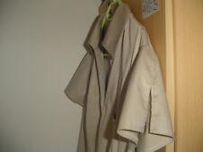 Leichtes Sommerkleid, Gr 46, Gerry Weber, beige, Flügelärmel, midi, A-Linie