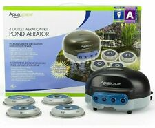 Aquascape 4-Outlet Pond Water Aeration Kit Complete Aeration System for Ponds