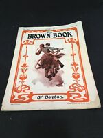 The Brown Book of Boston Magazine September 1902 Vol 5 No 5