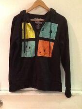 We Love Fine Pokemon Small Unisex Hooded Zip-up Sweater Sweatshirt