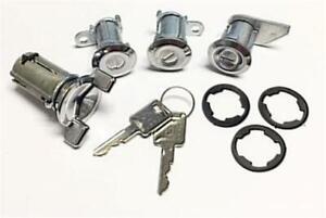 New Ignition Door & Rear Locks & JEEP Keys JEEP CJ5 CJ7 FSJ J10 Wagoneer 73 - 86