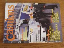 $$$ Revue Camions magazine N°41 Remois PMVVente camionsCarrossiers