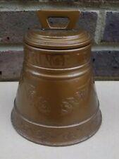 Antique HUNTLEY & PALMER Bell Biscuit Tin (EMPTY) circa 1912