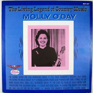 MOLLY O'DAY The Living Legend Of Country Music LP 1976 COUNTRY NM- NM-