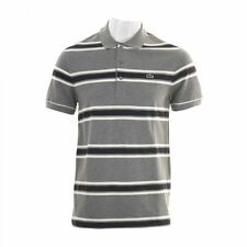 Lacoste Regular Fit Striped Casual Polo Shirts for Men