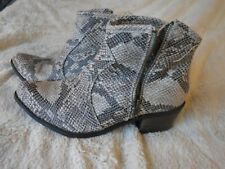 Snake Skin Shoes Womens Coconuts Size 8M High Heels SnakeSkin Shoes Pre Owned