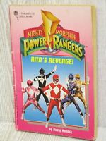 POWER RANGERS Mighty Morphin Story Book Vintage