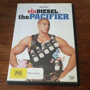 The Pacifier Vin Diesel DVD R4 Like New! FREE POST