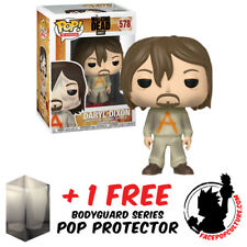 FUNKO POP WALKING DEAD DARYL DIXON PRISON SUIT EXCLUSIVE + FREE POP PROTECTOR